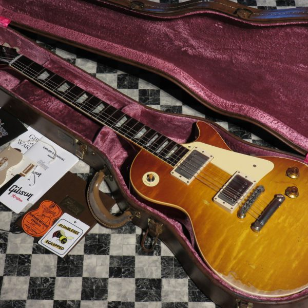 Gibson Custom Shop 2017 Custom Order 1958 Les Paul Standard Hard Rock Maple Heavy Aged M2M