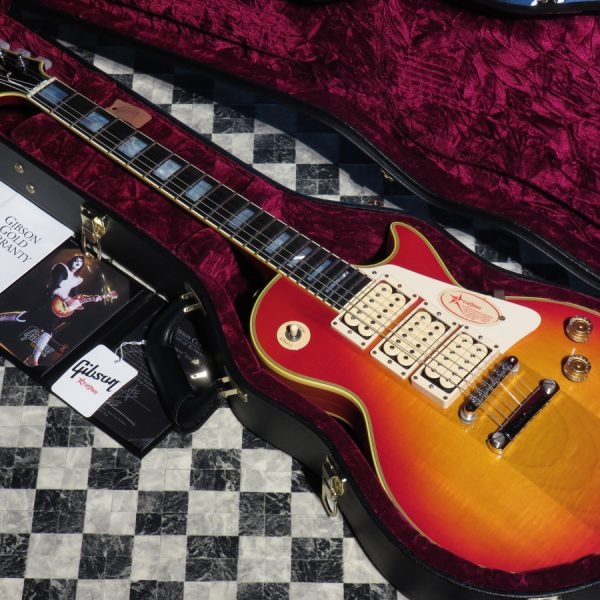 "Gibson Custom Shop Ace Frehley ""Budokan"" Les Paul Custom VOS"
