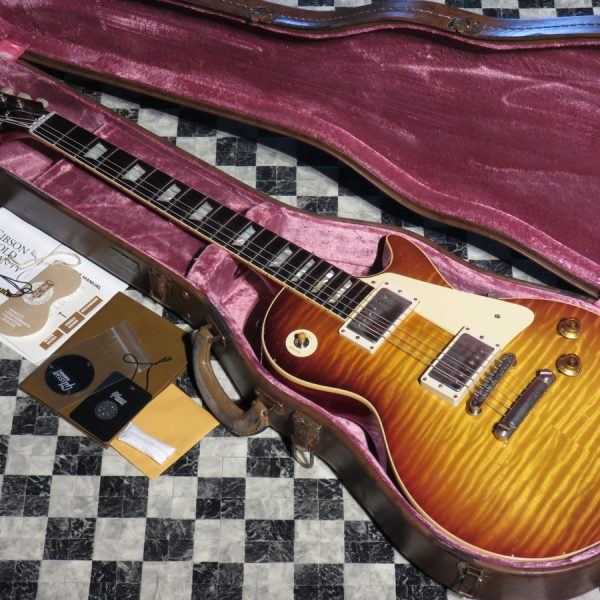 Gibson Custom Shop 2018 Historic Collection 1959 Les Paul Standard Tom Murphy Aged M2M
