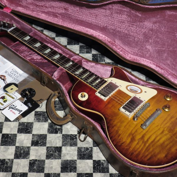 Gibson Custom Shop 2017 Limited Run Les Paul Standard Figured Top Tom Murphy Painted & Aged A Murphy Masterpiece