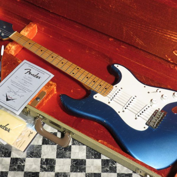 Fender Custom Shop Master Built Series 1956 Stratocaster Relic Matching Head by John English