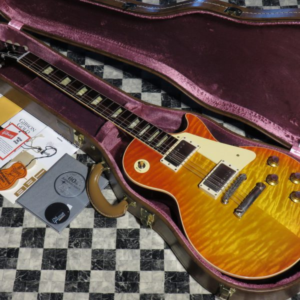 Gibson Custom Shop Historic Collection 60th Anniversary 1960 Les Paul Standard Versions 2 VOS