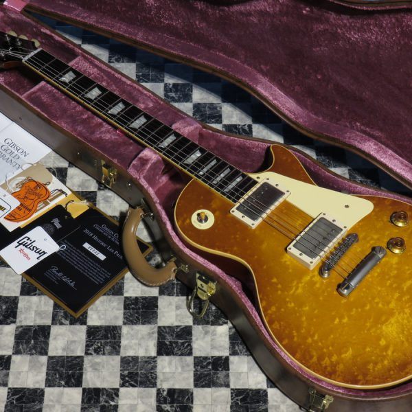 Gibson Custom Shop Historic Collection 1958 Les Paul Standard Hard Rock Maple VOS